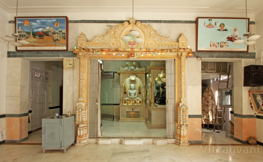 Shree Neminath Digambar Jin Mandir, Ghatkopar