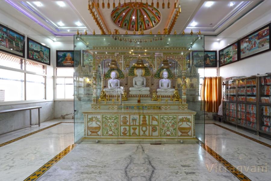 Shree Mahaveerswami Digambar Jain Mandir, Jabera